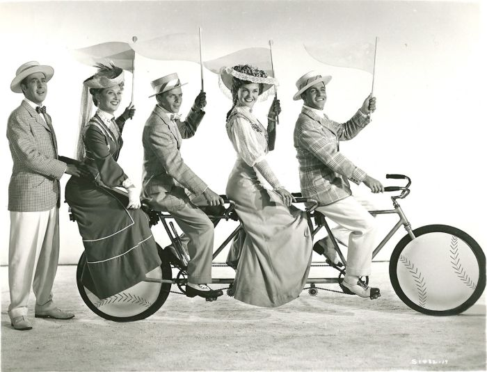 Interesting Vintage Photos of Famous People on Bicycles (3)