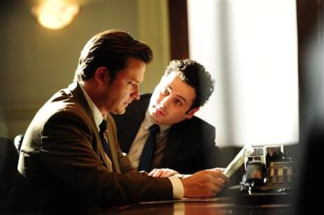 "L to R, Aden Young and Luke Kirby - in the SundanceTV original series ""Rectify"" - Photo Credit: Curtis Bonds Baker"