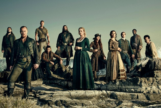 Black Sails Key Art Shoot 2015